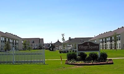 Community Signage, Village Square Searcy, 2