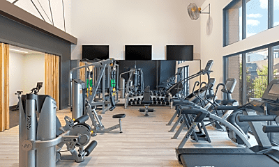 Fitness Weight Room, 1081 N Summit Ave, 2