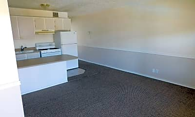 Living Room, 6240 Woodward St, 2