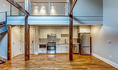 Living Room, North Rendon Apartments, 0