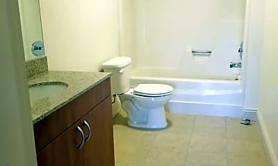 Bathroom, Pioneer Apartments, 2
