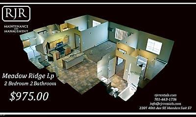Bathroom, 601 Meadow Ridge, 2