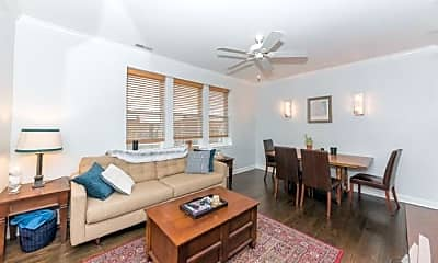 Living Room, 3534 W Palmer St, 2