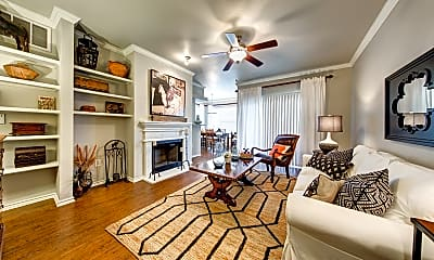 Living Room, The Marquis At Lantana, 1