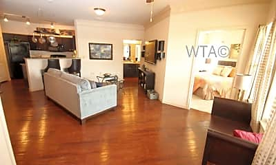 Living Room, 7838 Huebner Rd, 2