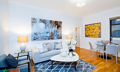 Living Room, 304 W 89th St 1A, 0