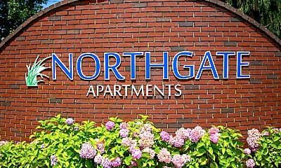 Community Signage, Northgate Apartment Homes, 2