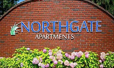 Community Signage, Northgate Apartment Homes, 2