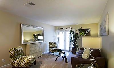 Living Room, Gateway at Cedar Brook, 1