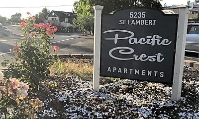 Pacific Crest Apartments, 1