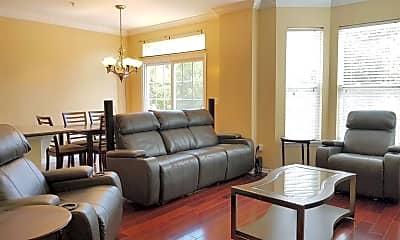 Living Room, 263 Custer Ave 104, 1