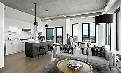 Living Room, 333 E Hennepin Ave 2501, 1