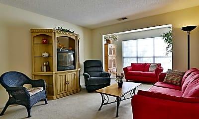 Living Room, Century Oaks Apartments, 1
