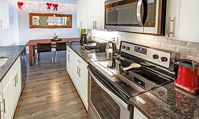 Kitchen, Shakespeare Apartments, 1