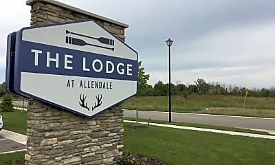 The Lodge at Allendale, 1