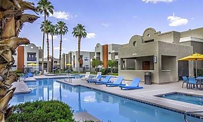 Pool, Helix Apartments, 1