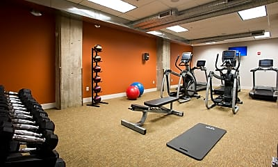 Fitness Weight Room, Old Townley Lofts, 2