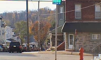 Community Signage, 5213 Ridge Ave 3, 2