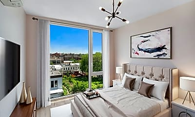 Bedroom, 1323 Chisholm St 3-B, 1