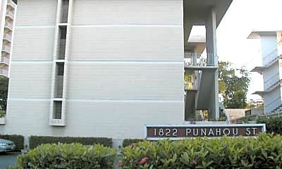Community Signage, 1822 Punahou St, 0