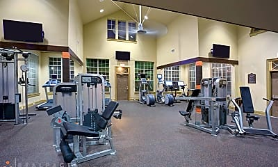 Fitness Weight Room, Advenir On Addison, 2