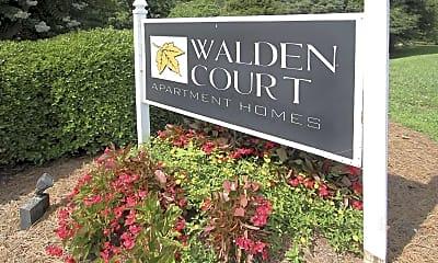 Community Signage, Walden Court, 2