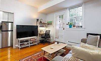 Living Room, 16 Chauncy St A, 1