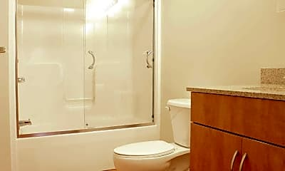 Bathroom, The Lofts At Wamsutta Place, 2