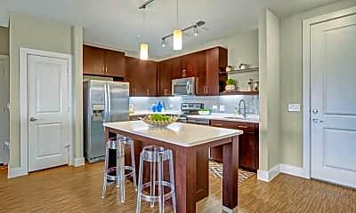 Kitchen, The Metropolitan Apartments, 1