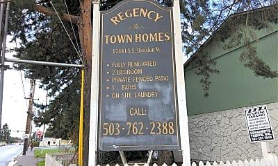 Regency Town Homes, 1