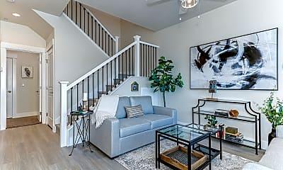 Living Room, Cedar Crossing Luxury Townhomes, 0