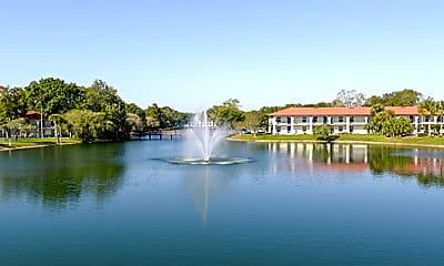 Landscaping, University Lake Apartments, 2