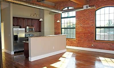Kitchen, Lofts at Pocasset Mill, 1