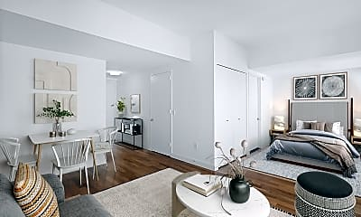 Living Room, 290 3rd Ave 9D, 1