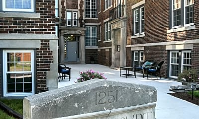 Community Signage, Boston Court Detroit, 2