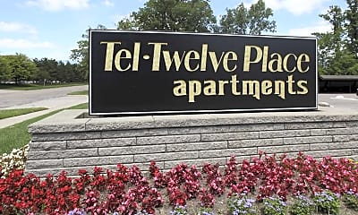 Community Signage, Tel Twelve Place Apartments, 2