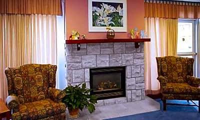 Living Room, Shaarey Zedek Senior Living, 2