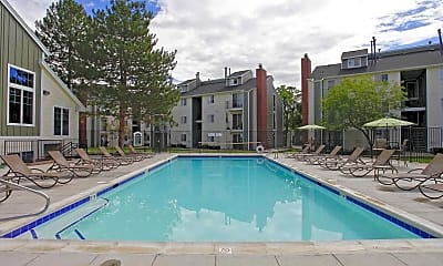 Pool, Summit Riverside Apartments, 0