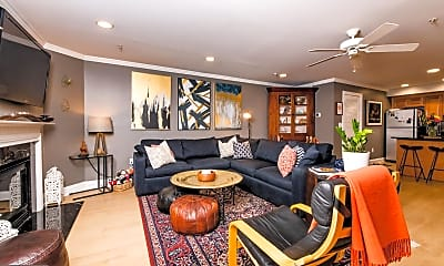Living Room, 1300 Taylor St NW 2, 1