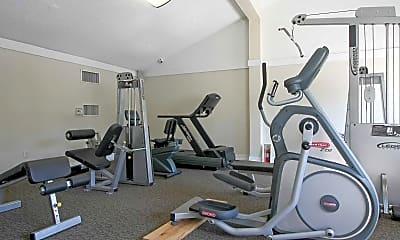 Fitness Weight Room, Palmera Pointe, 2