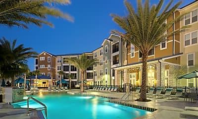 Pool, Integra Cove Apartments, 0