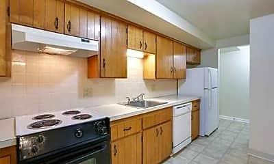 Kitchen, Sheridan Drive Apartments, 1