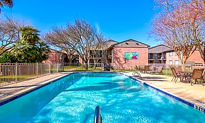 Pool, Park Place Apartments, 1