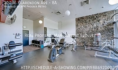 Fitness Weight Room, 207 W Clarendon Ave - 8A, 1