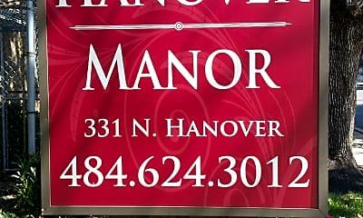 Hanover Manor 331 N. Hanover, 1