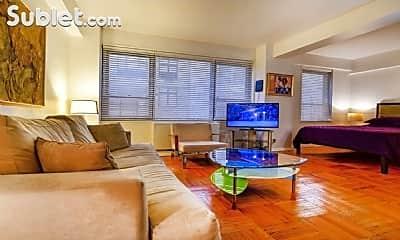 Living Room, 210 E 47th St, 1
