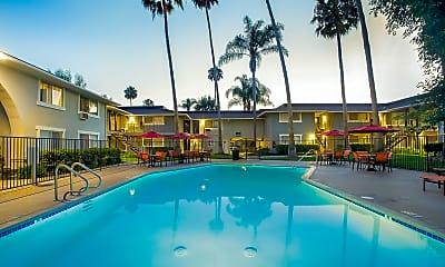 Pool, Montejo Apartments, 2