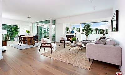 Living Room, 13600 Marina Pointe Dr 303, 0