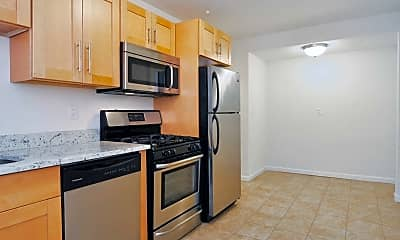 Kitchen, Elmcrest Apartments, 2