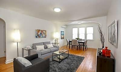 Living Room, 4564 MacArthur Blvd NW, 1